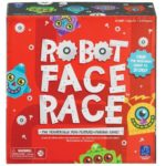 robot face race