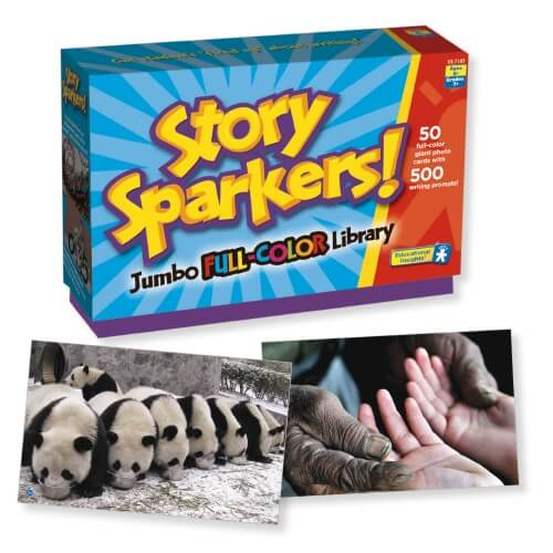 story sparkers cogs the brain shop