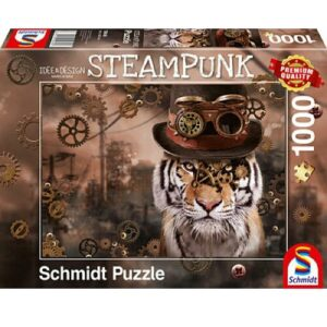 Schmidt Steampunk Tiger 1000pc Jigsaw Puzzle