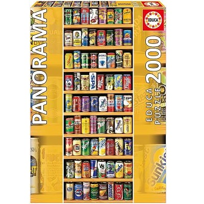 Soft Cans 2000pc Panorama Series Jigsaw Puzzle