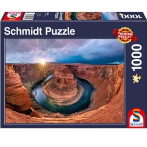Glen Canyon, Horseshoe Bend on the Colorado River, 1000 pcs